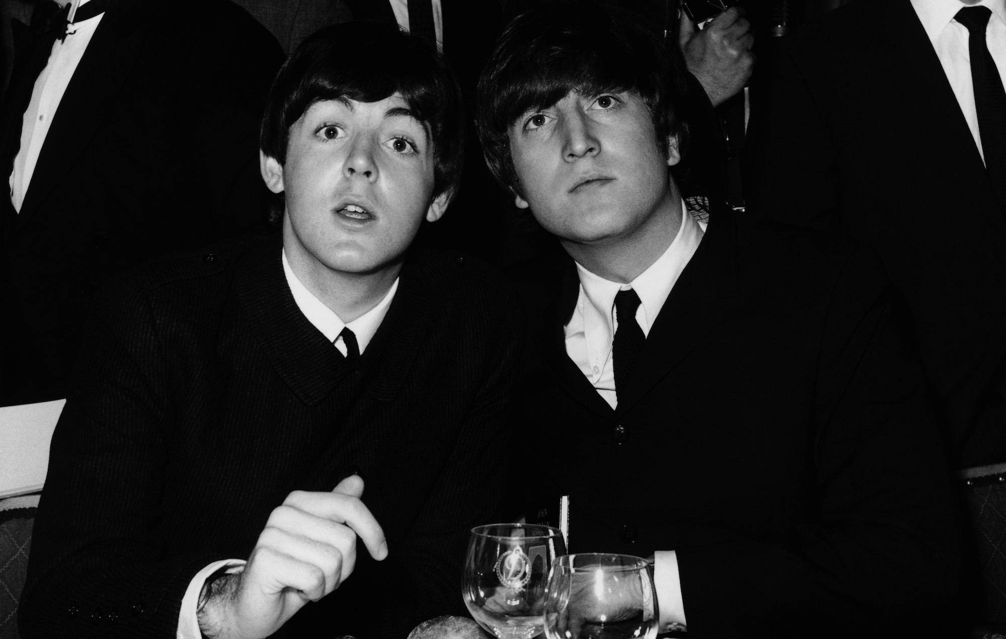 Paul McCartney John Lennon drill