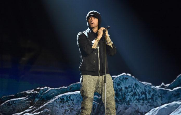Eminem cringed