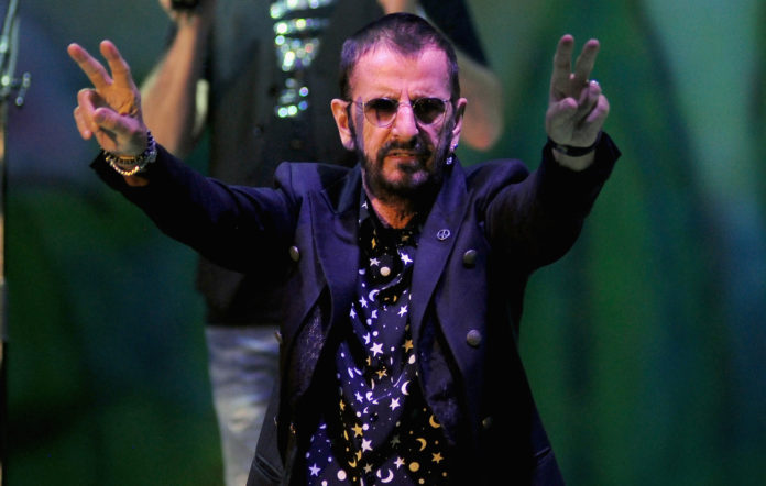 Ringo Starr Beatles Abbey Road