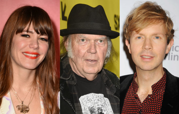 Beck Jenny Lewis Neil Young cover