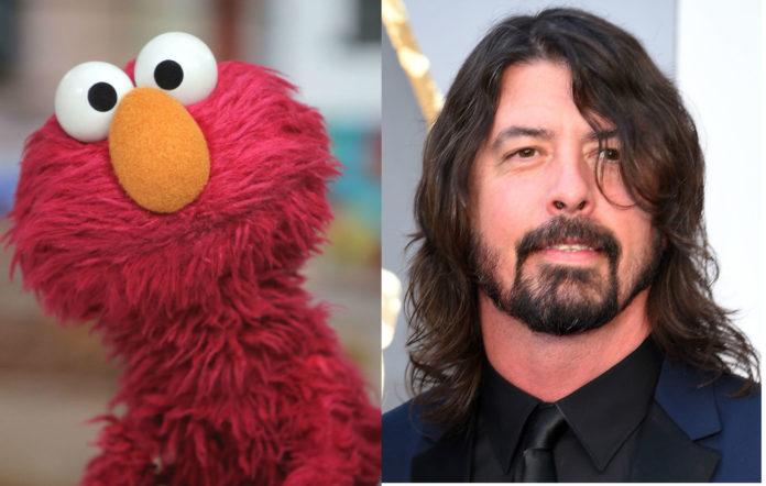 Dave Grohl Sesame Street 50 season