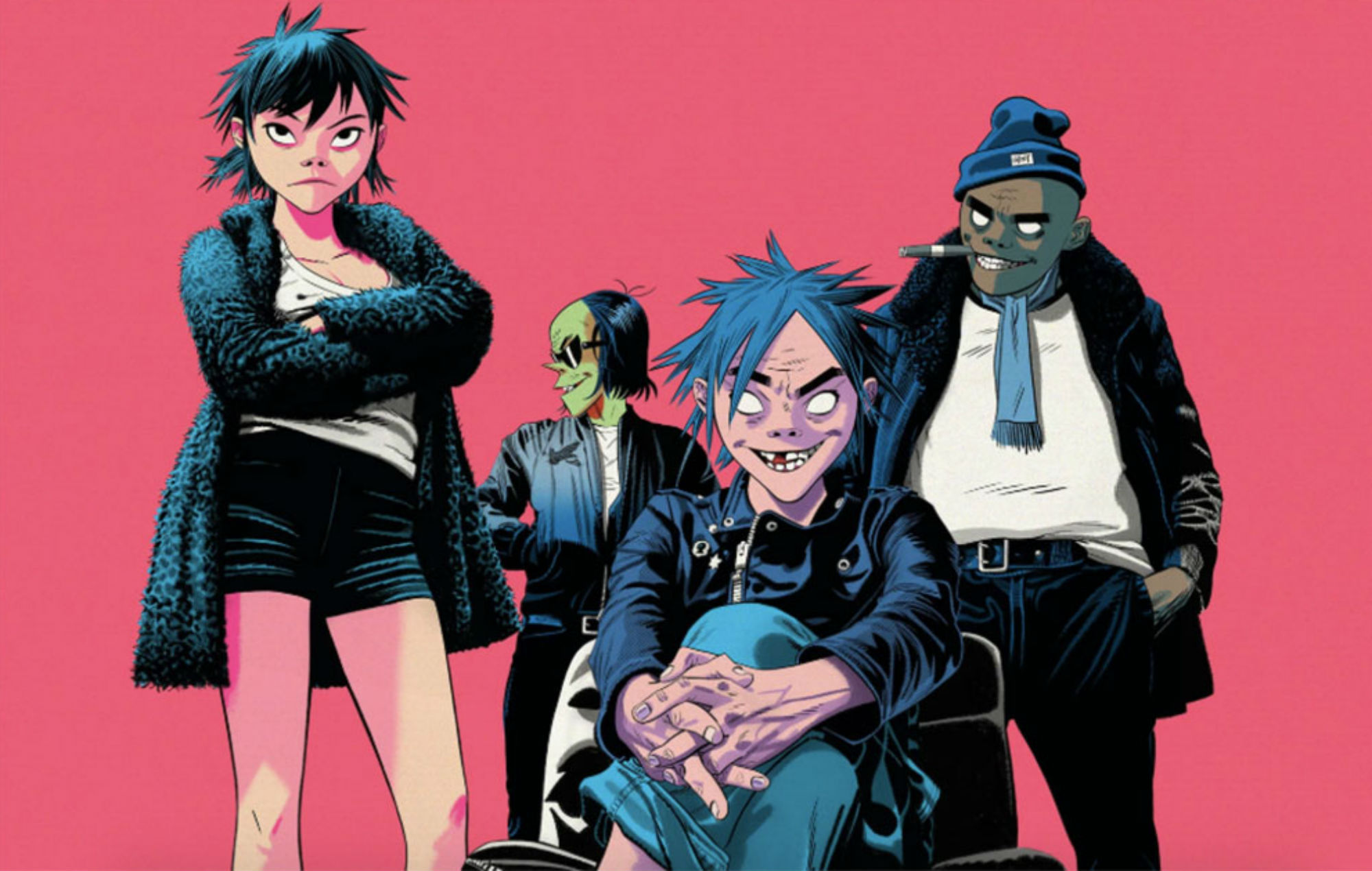 Fans criticise Gorillaz for selling NFT after impact on climate change revealed