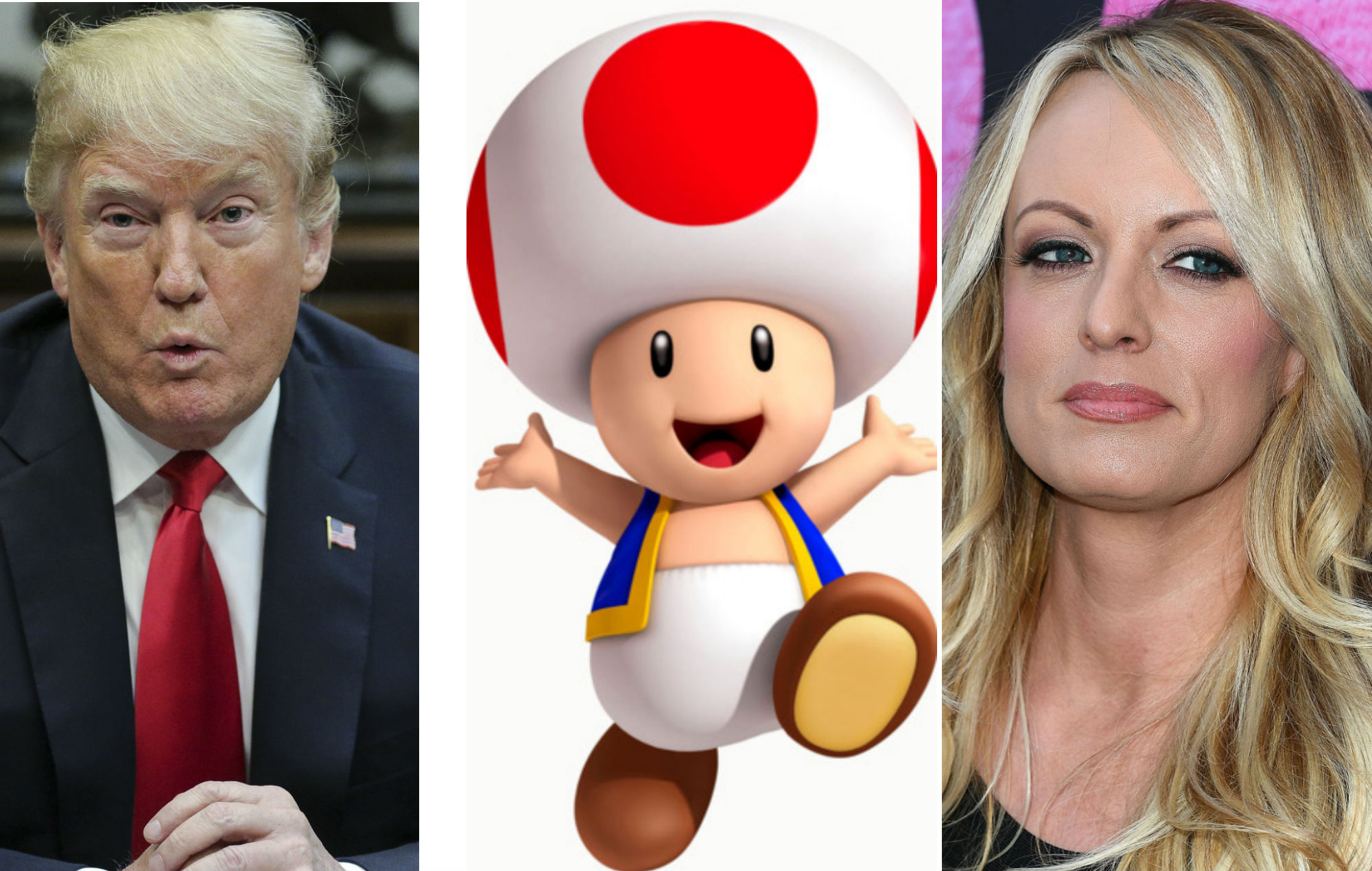 Stormy Daniels Compares Donald Trump S Penis To Toad From Mario Kart