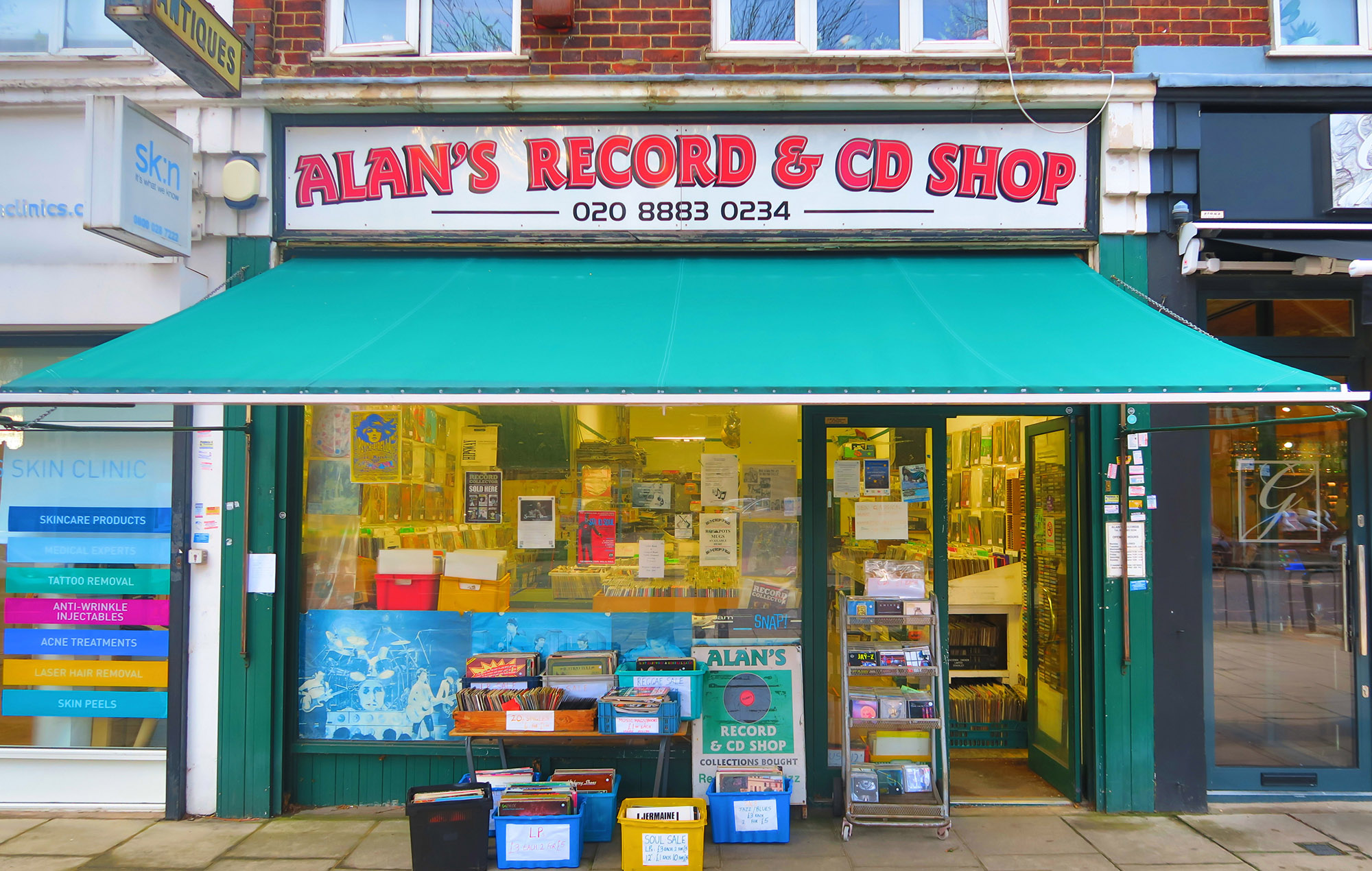 Alan's Records, London