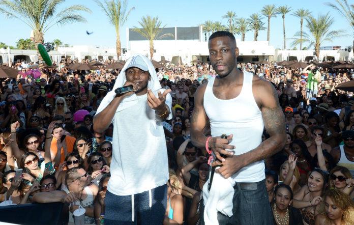 Kendrick Lamar and Jay Rock