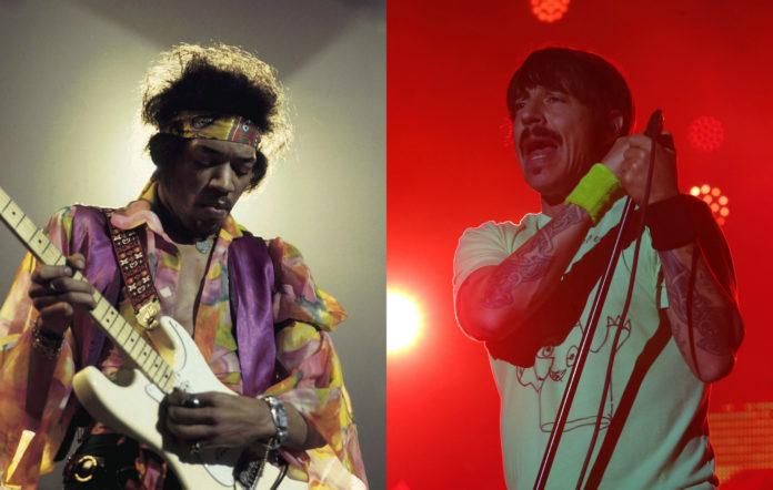 Jimi Hendrix and Anthony Kiedis
