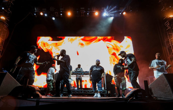 Watch Wu-Tang Clan reunite to perform 'C.R.E.A.M' and 'Protect Ya Neck'