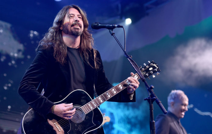 Dave Grohl blind child foo fighters gig