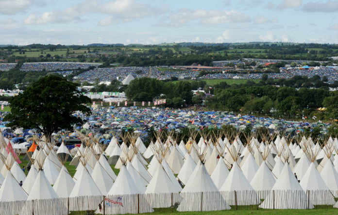 Glastonbury accommodation extras on sale