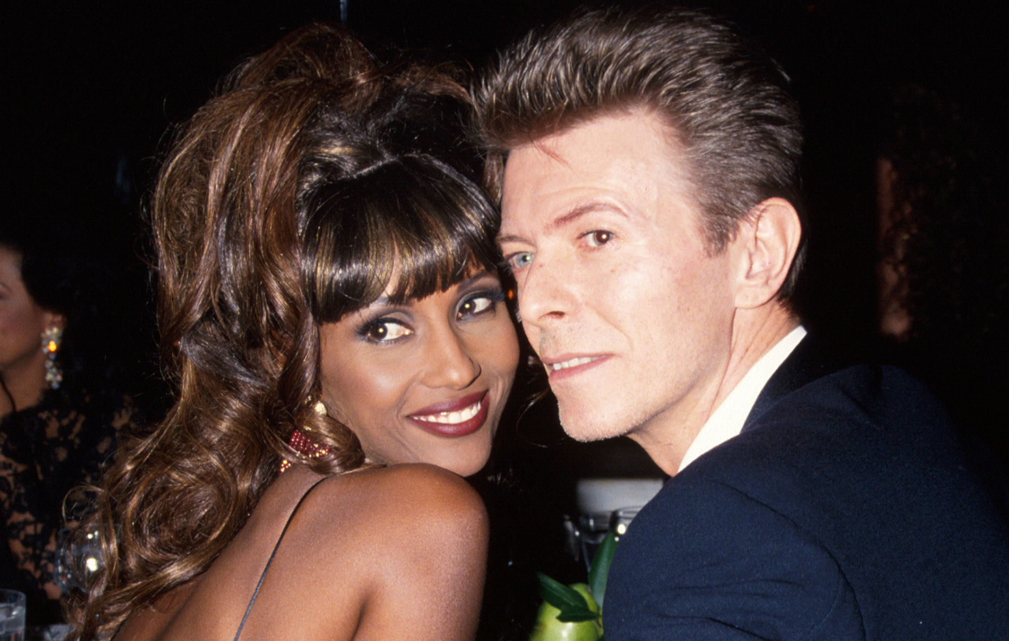 Iman never remarry after David Bowie