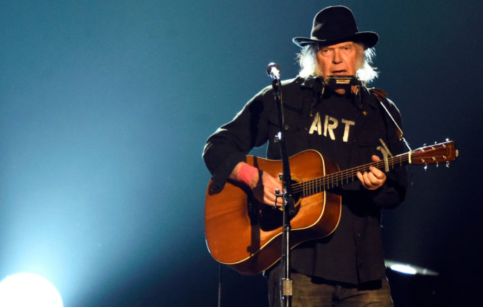 Neil Young acoustic album songs for judy