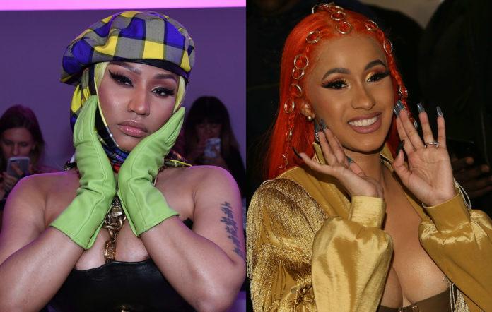 Nicki Minaj Cardi B