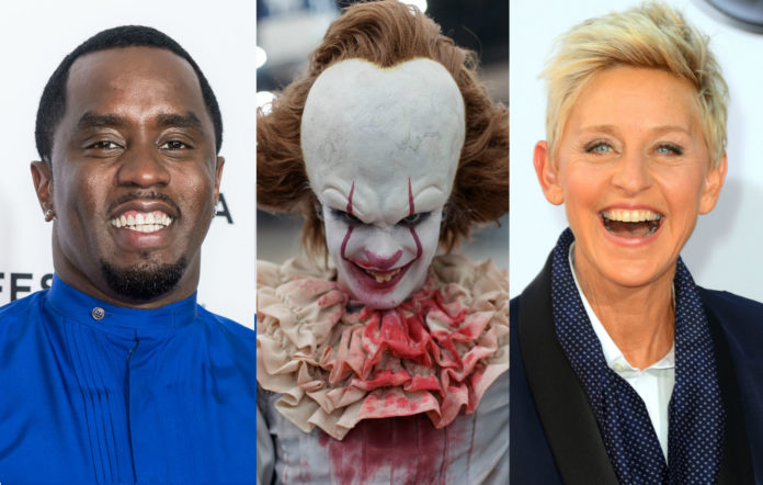 P Diddy clown prank ellen