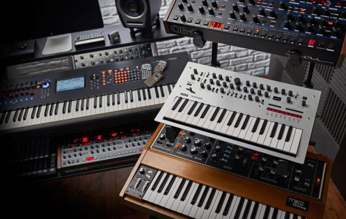 Synths Moog Korg