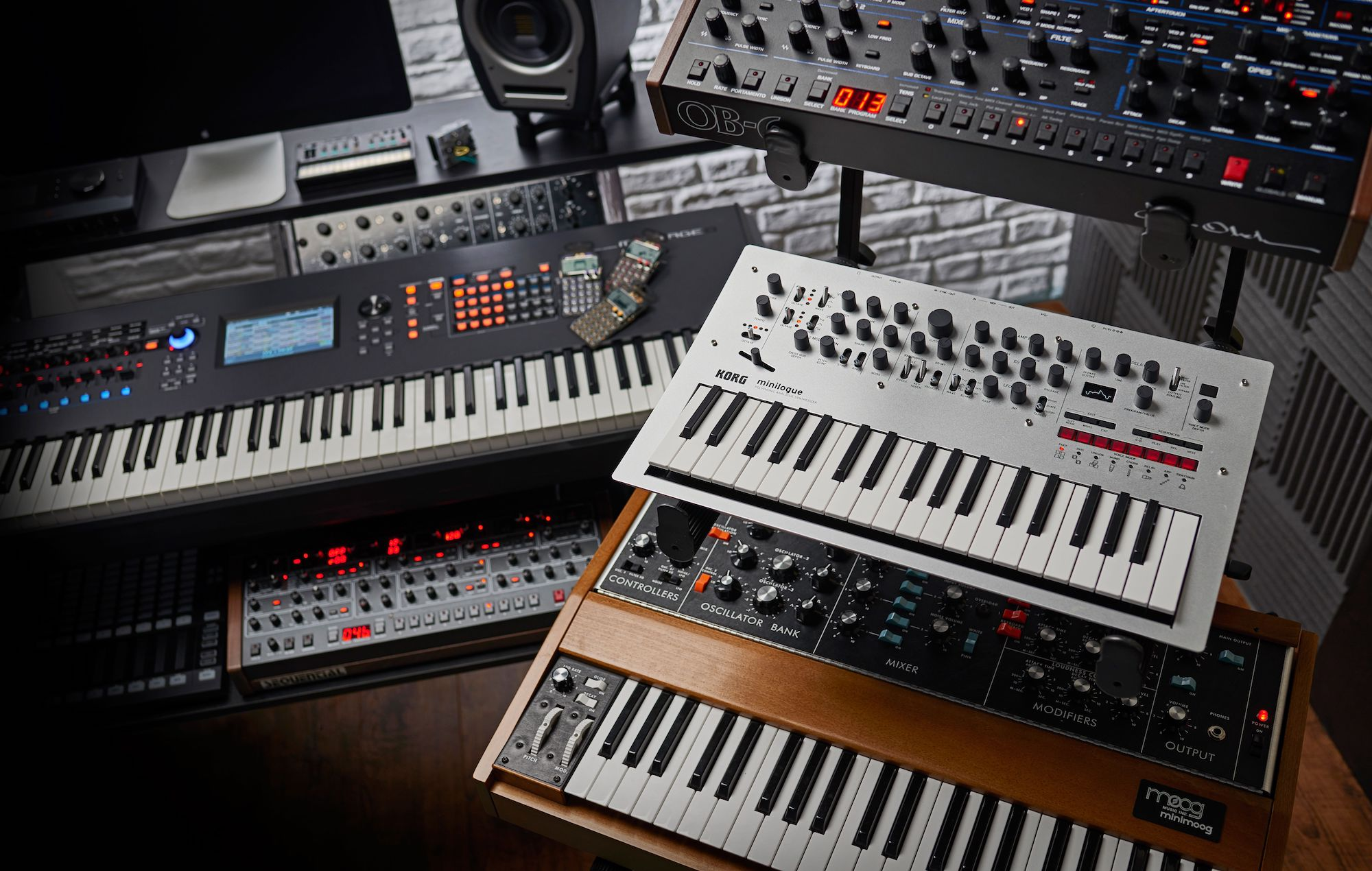 Korg and Moog are giving away their synthesizer apps for free