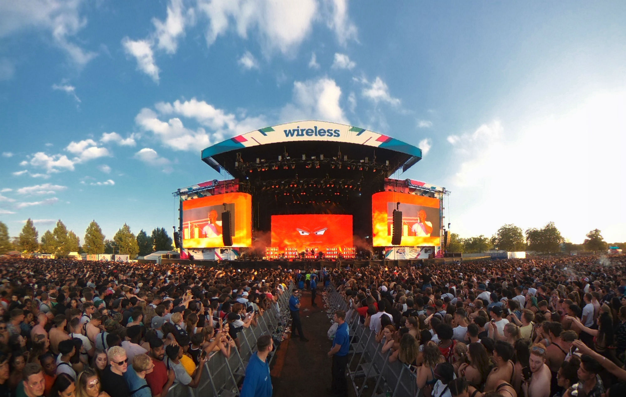 Wireless festival swearing offensive outfits