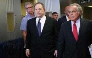Harvey Weinstein and his attorney Ben Brafman