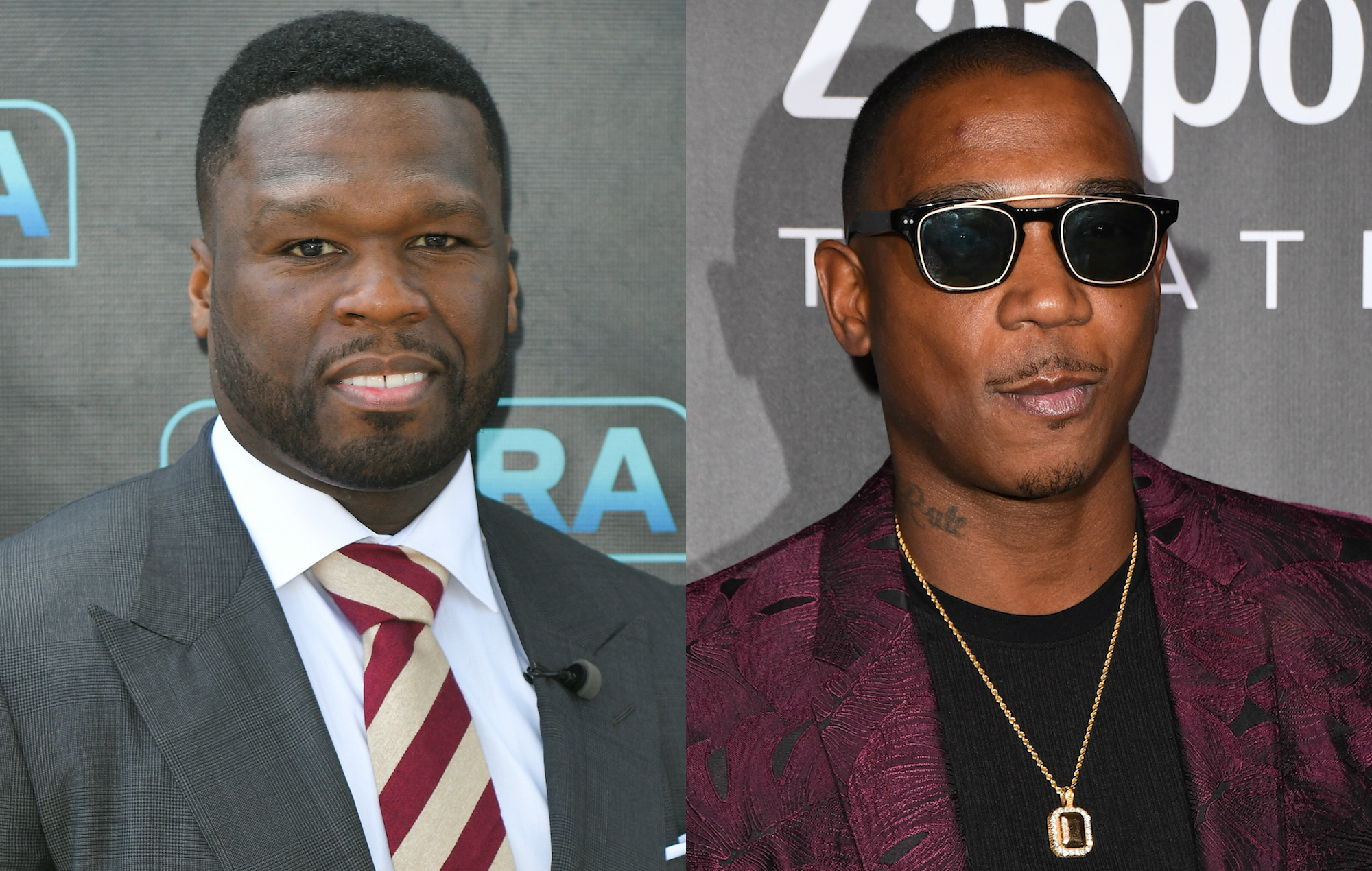 50 Cent says Ja Rule feud won't end until 'one of us is gone'
