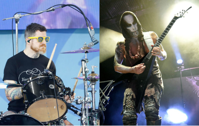 Andy Hurley jams with Behemoth