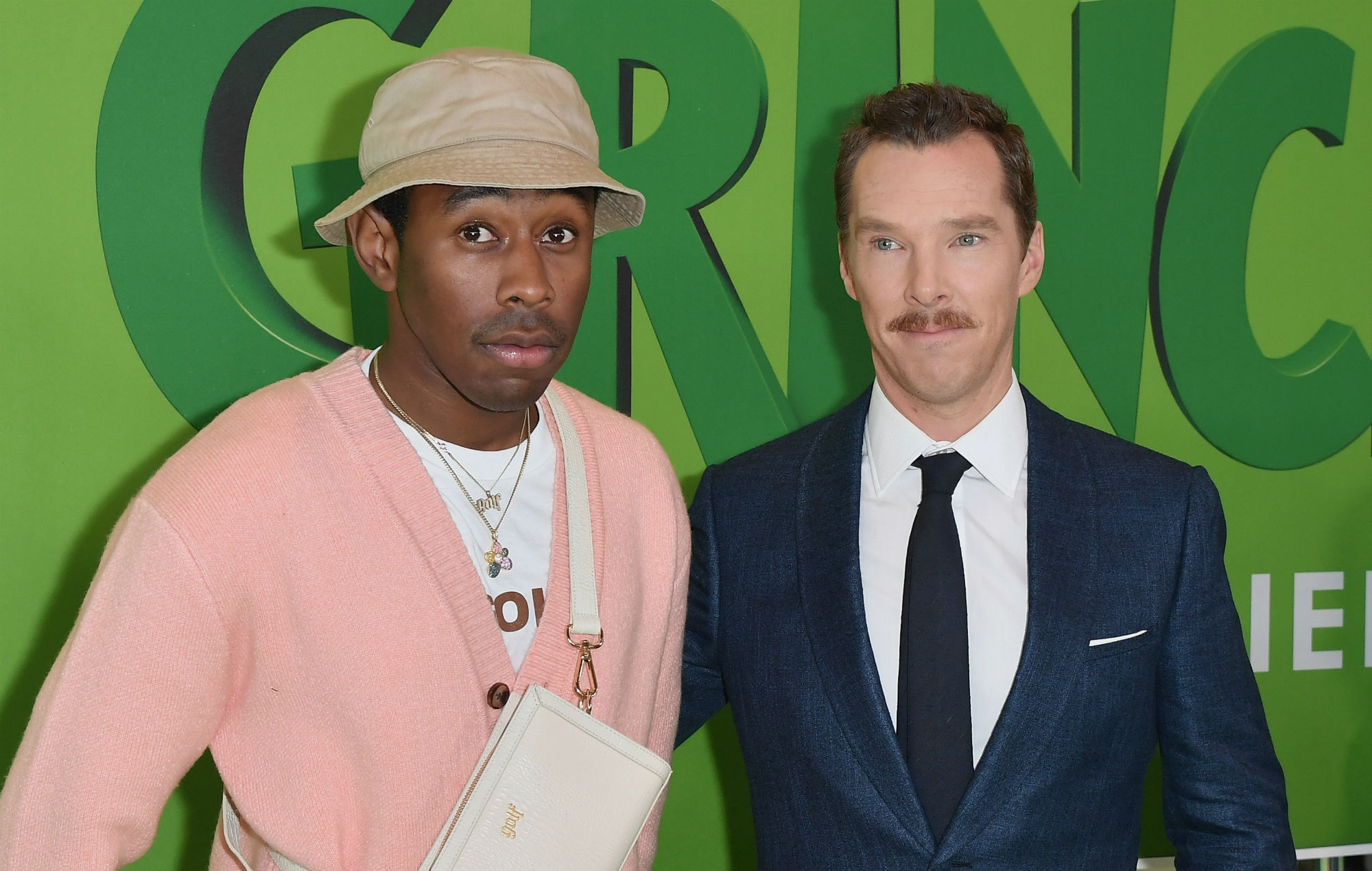 Tyler, the Creator and 'Grinch' star Benedict Cumberbatch