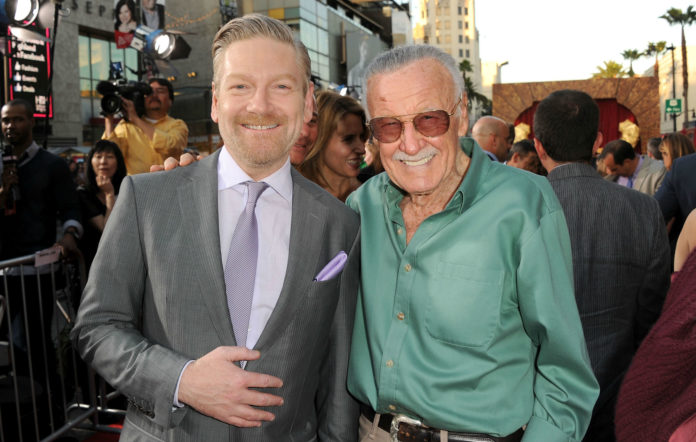 Kenneth Branagh and Stan Lee