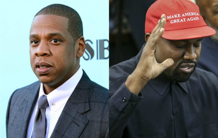 Jay Z Kanye