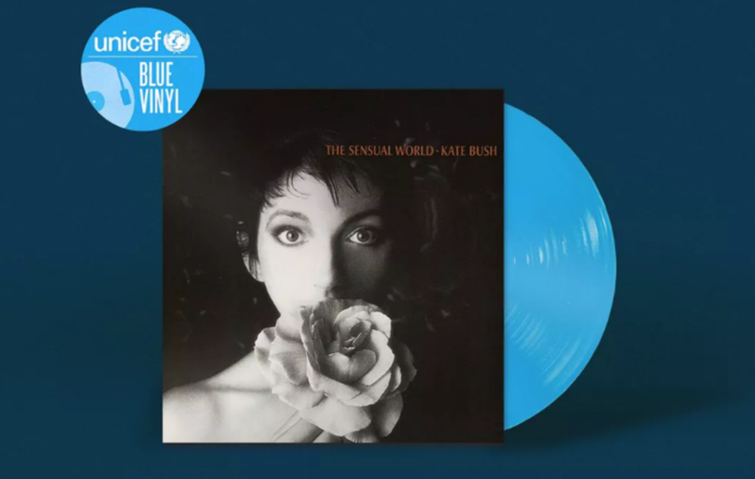 unicef blue vinyl