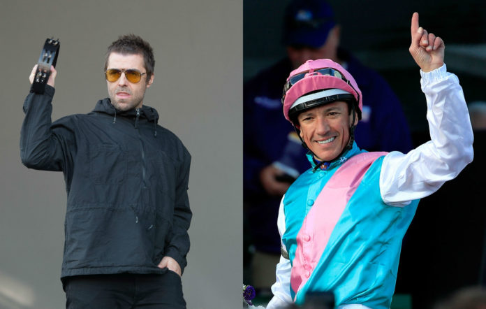 Liam Gallagher reveals he rode on jockey Frankie Dettori's back around a swimming pool