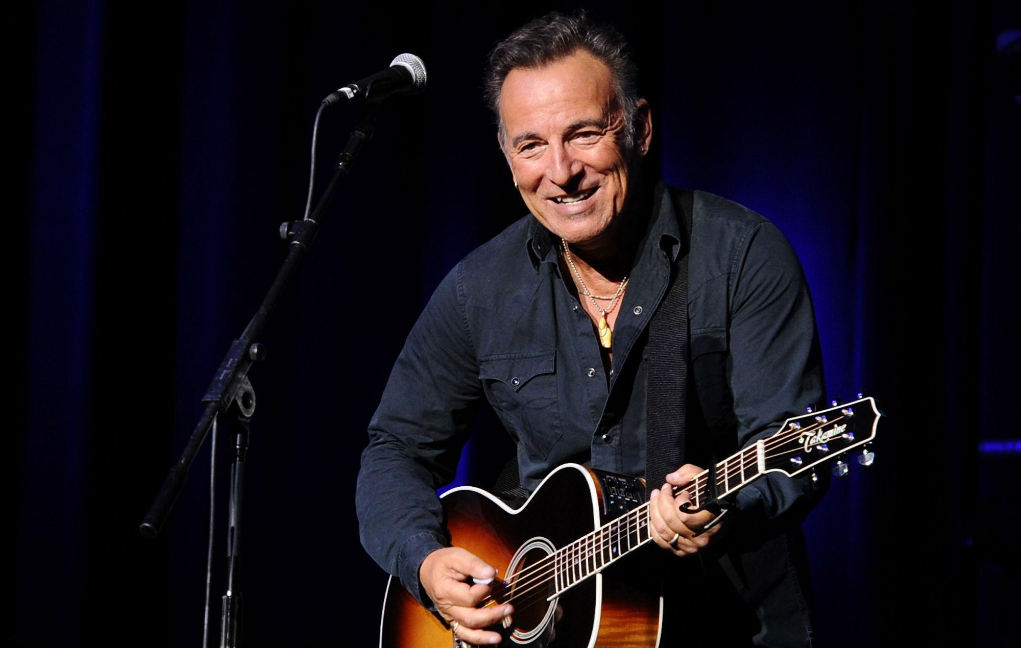 Bruce Springsteen on broadway album