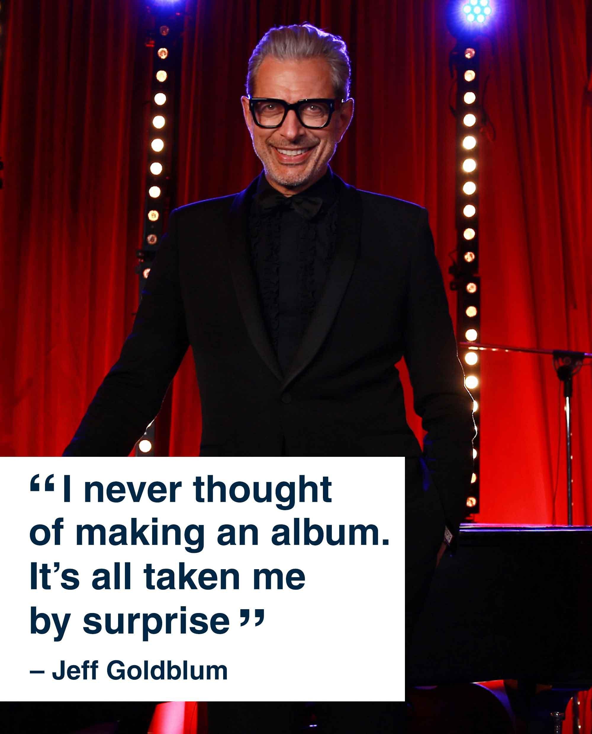 Jeff Goldblum NME