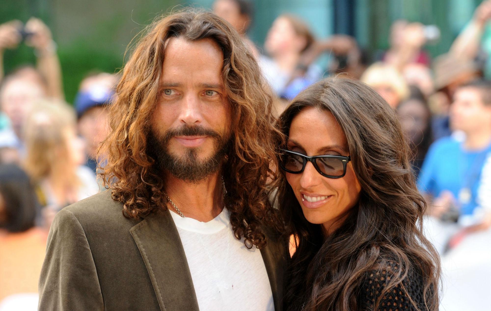 Chris Cornell's widow responds to late husband's posthumous Grammy win