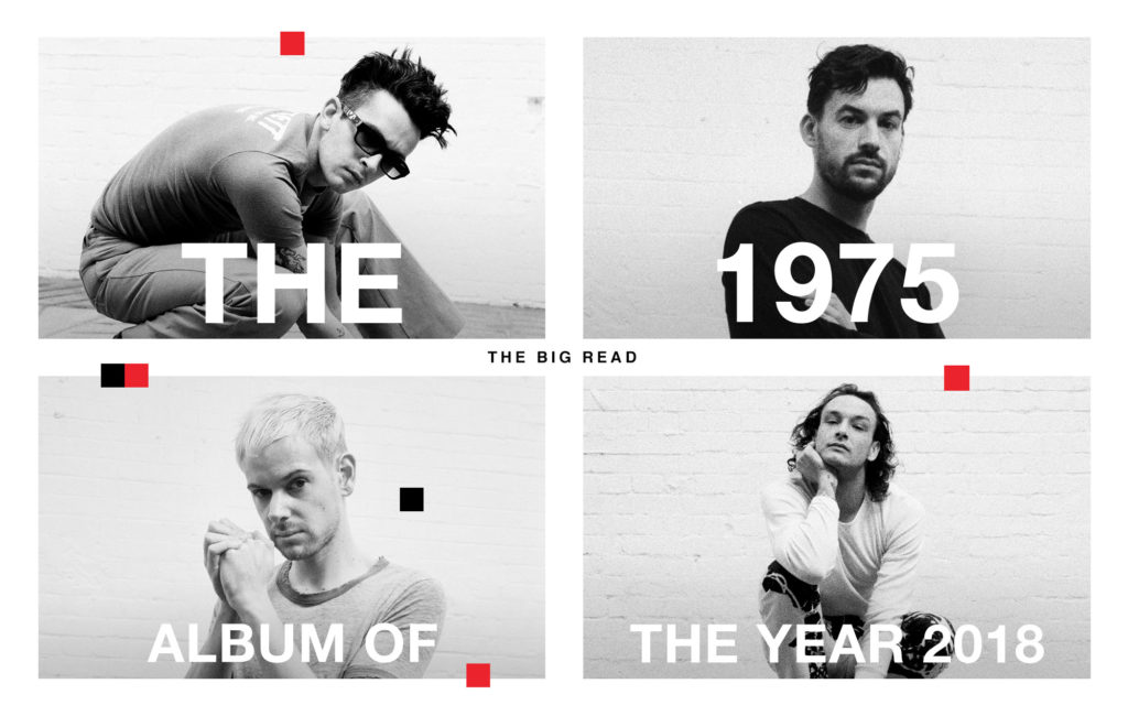 The 1975   NME Album of the year 2018
