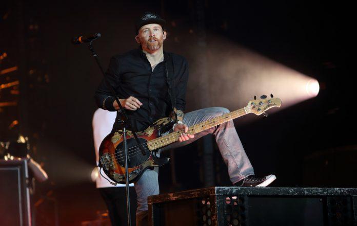 Linkin Park bassist Dave Farrell