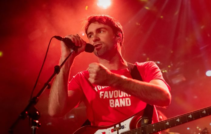 Justin Young-Hayward of The Vaccines