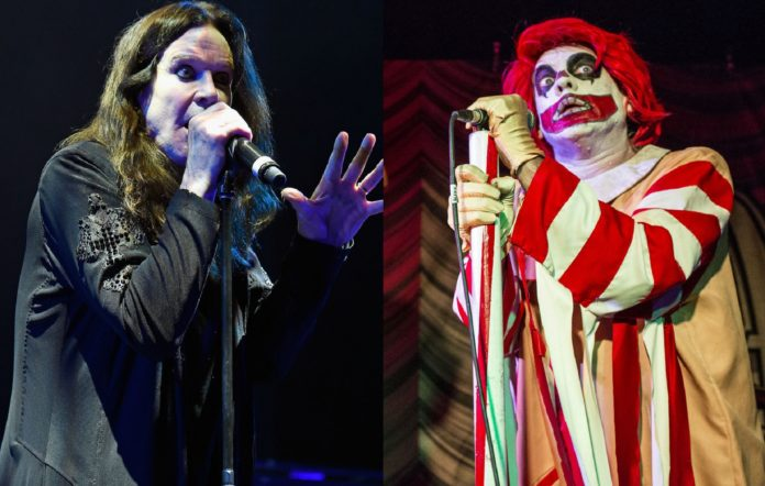 Ozzy Osbourne and Ronald Osbourne