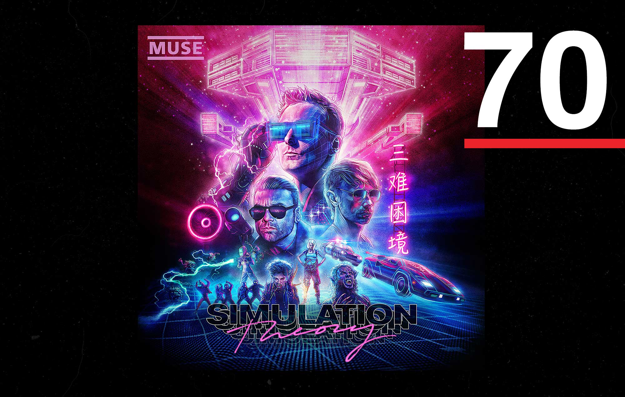 Muse | NME Albums of the year 2018