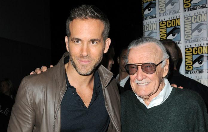 Ryan Reynolds and Stan Lee