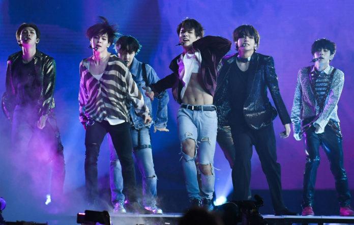 BTS perform live