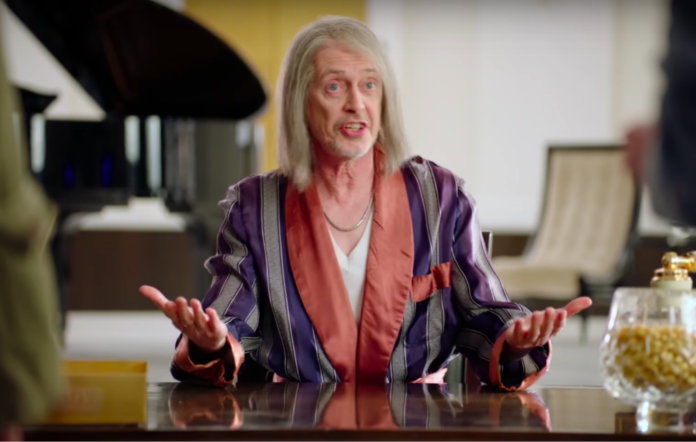 Miracle workers trailer Steve Buscemi Daniel Radcliffe