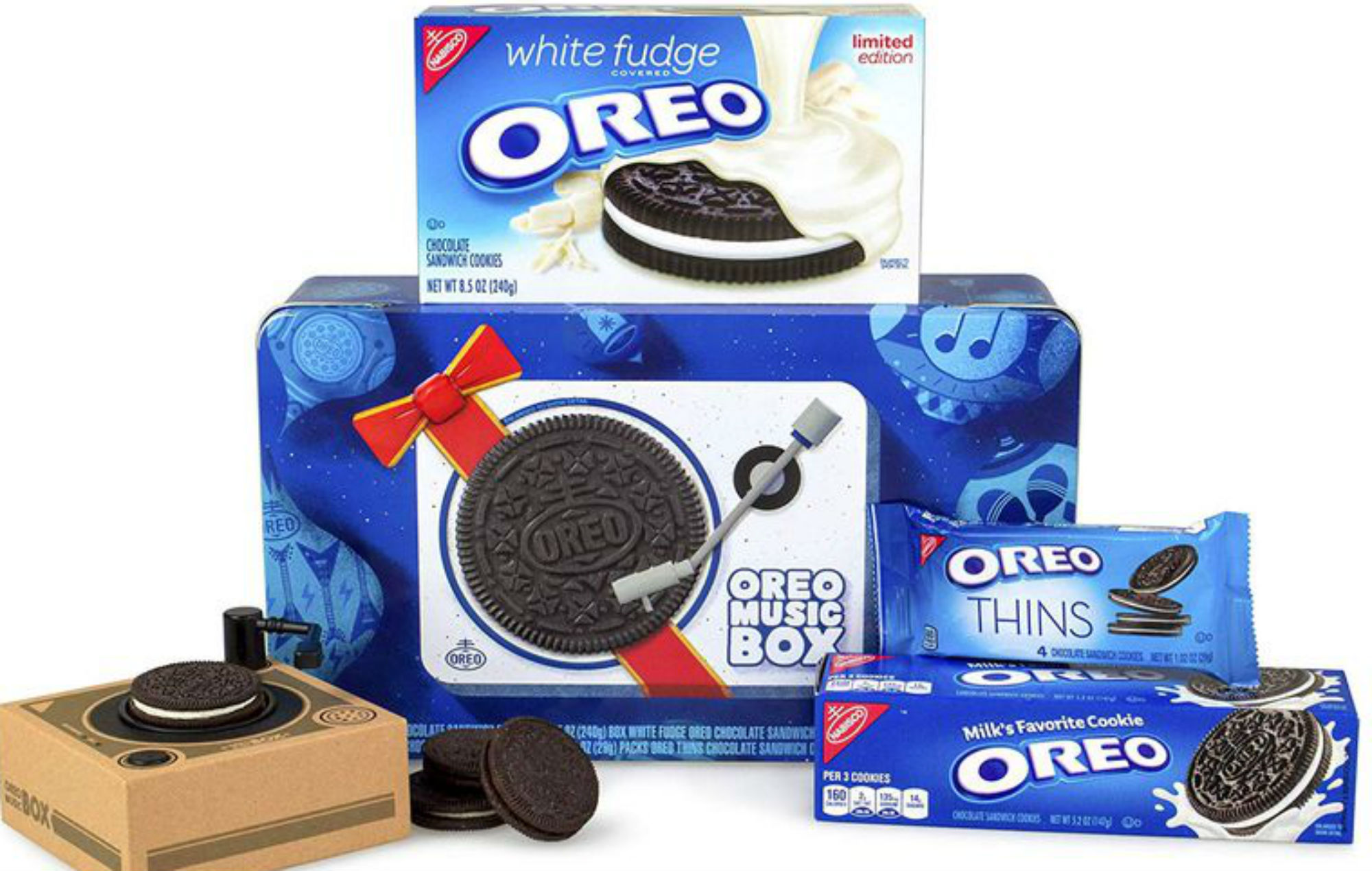 Oreo Is Releasing A Record Player That Actually Plays Music And Cookies