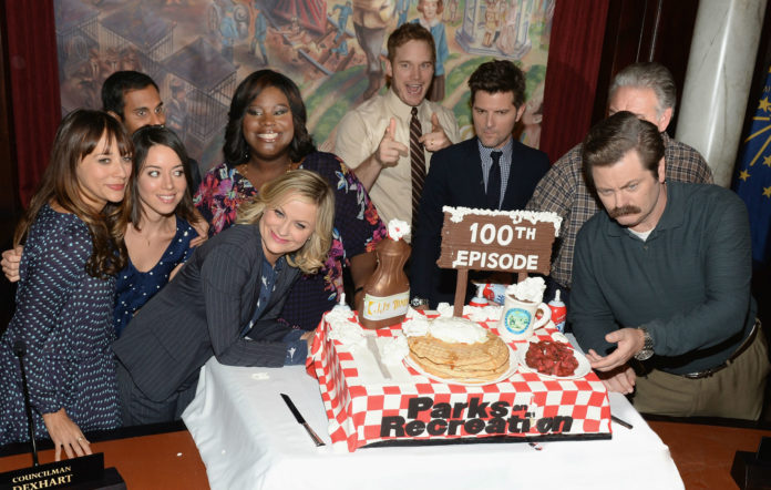 Parks and recreation 10th anniversary reunion