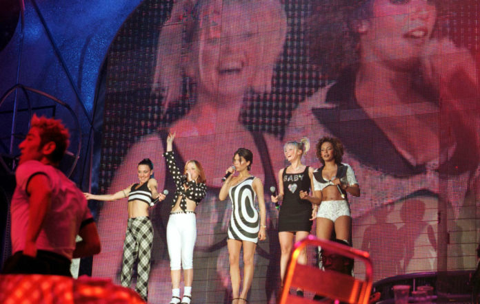 The Spice Girls live