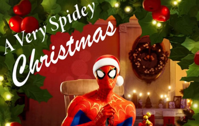 Spider man spider verse christmas ep
