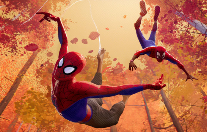 Spiderman into the spiderverse artists how long