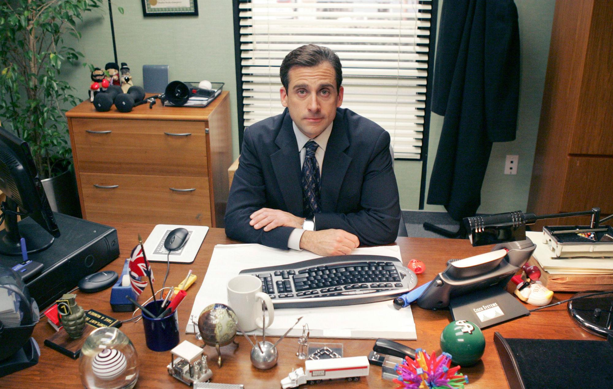 Steve Carrell the office reboot