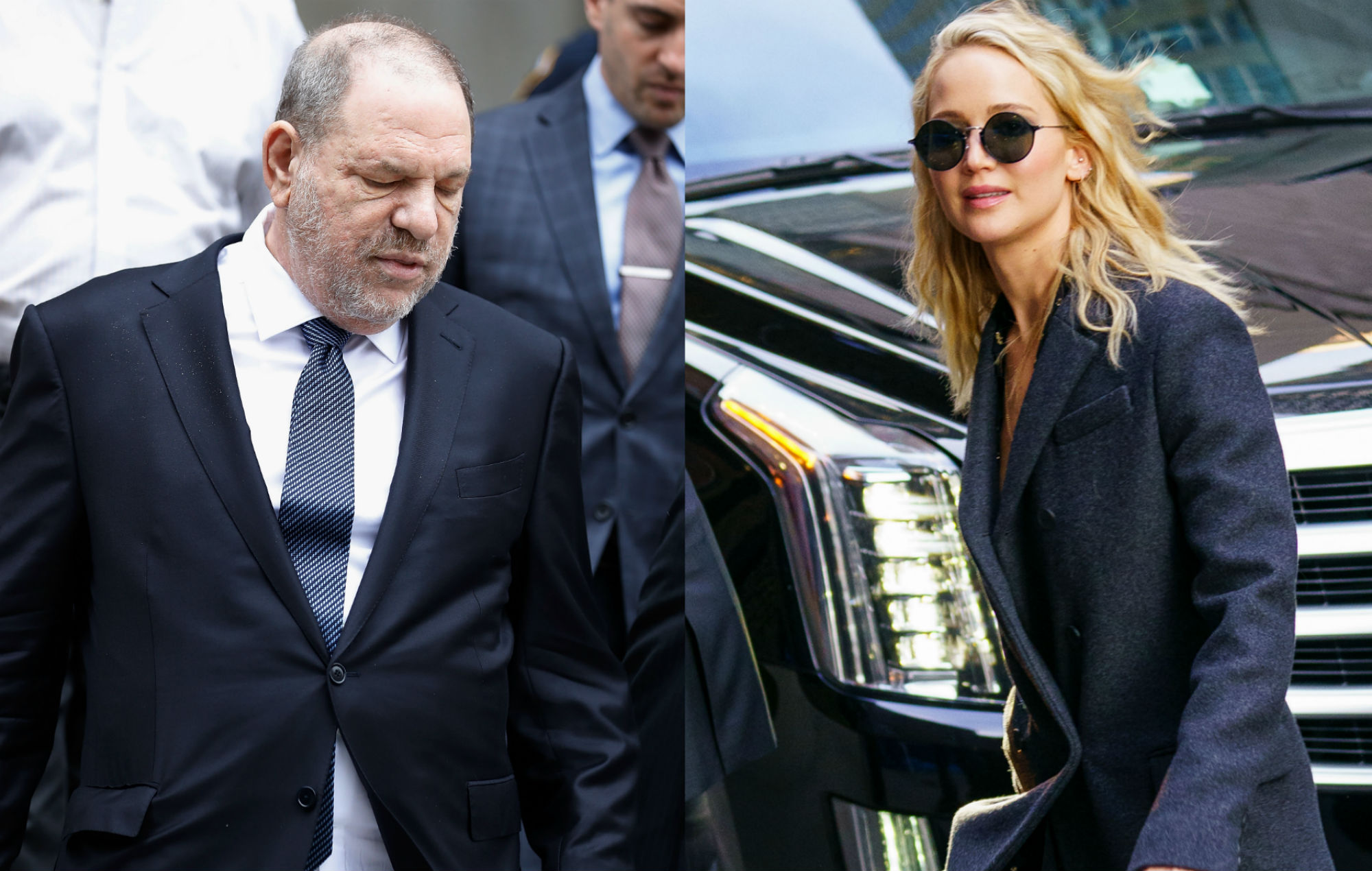 Woman Claims Harvey Weinstein Boasted About Sleeping With Jennifer Lawrence