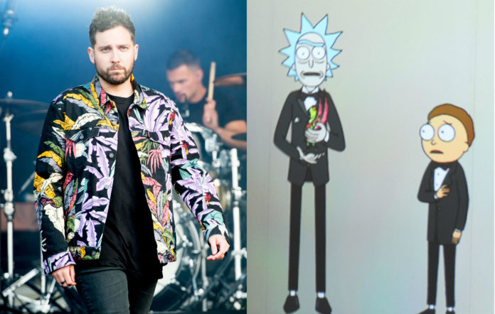 You Me At Six Rick and Morty Video