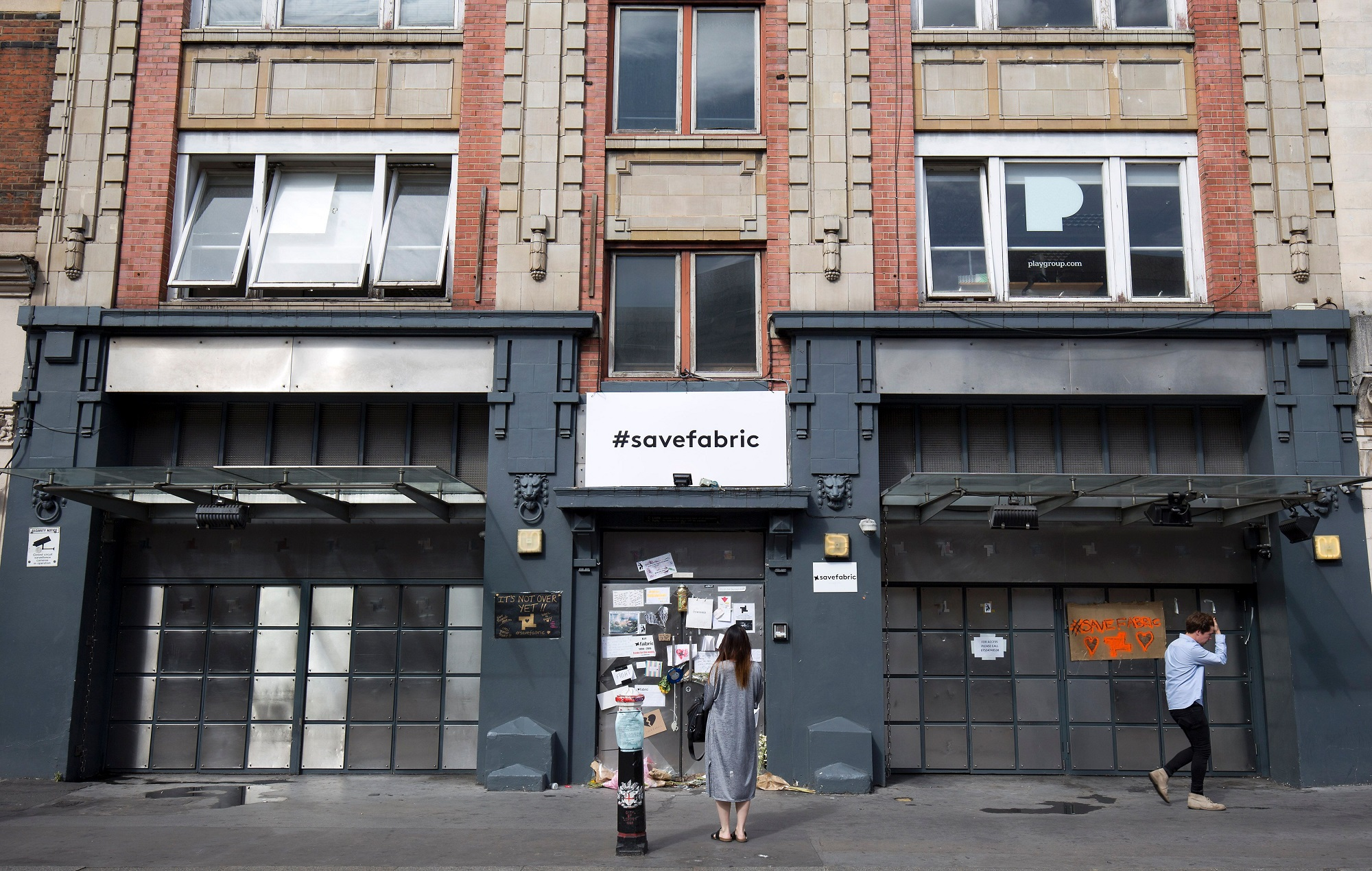 Fabric was previously closed down in 2016