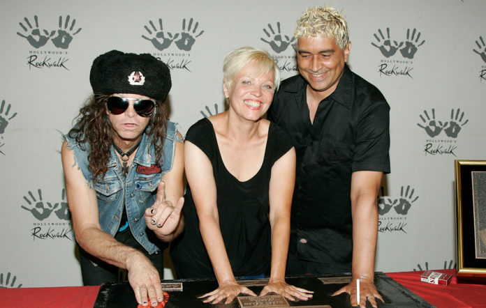 Germs' Don Bolles, Lorna Doom, and Pat Smear