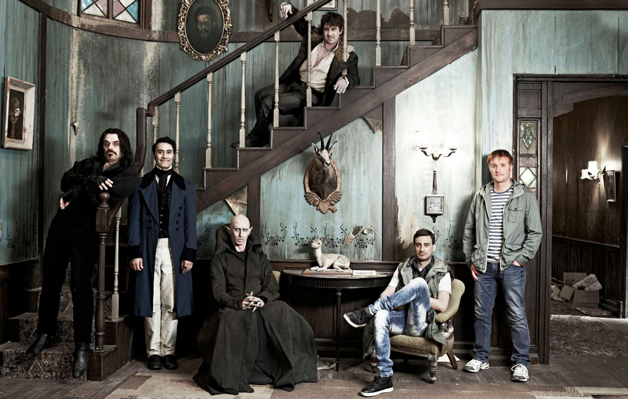 What We Do In The Shadows (2014 cast)